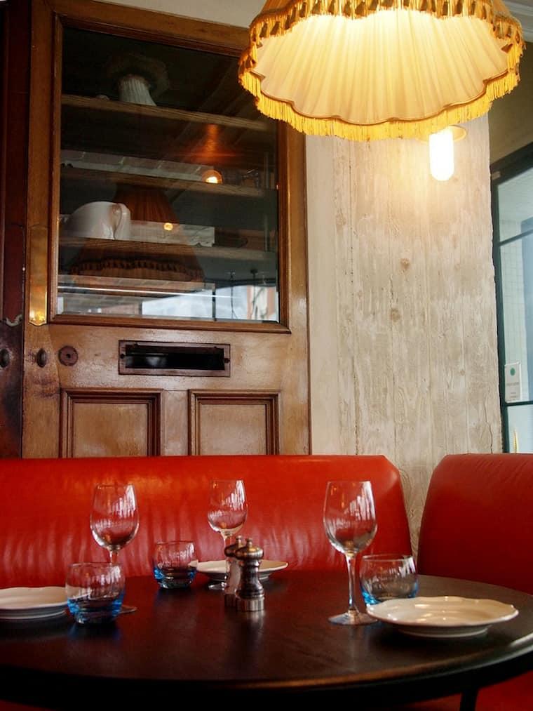 Riding house cafe interior design