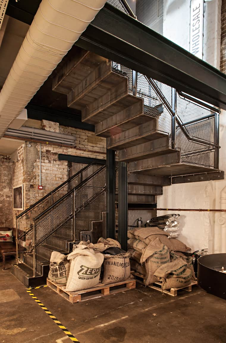 Box 9 design ozone coffee roasters for O zone architecture