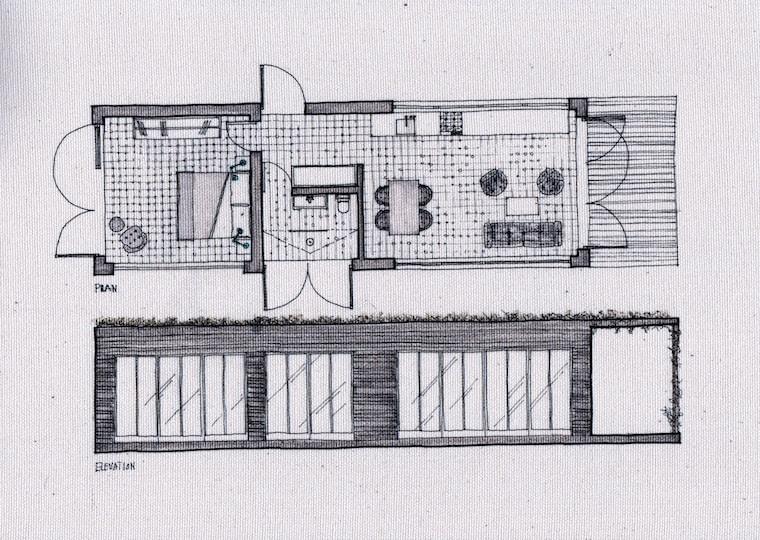 Bert's Big Box sketches